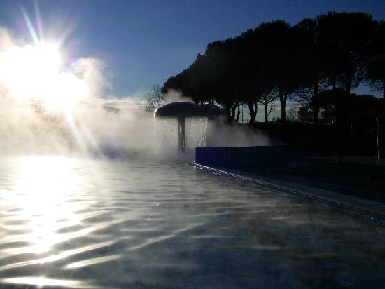 Hotel Abano Verdi Terme: piscina esterna