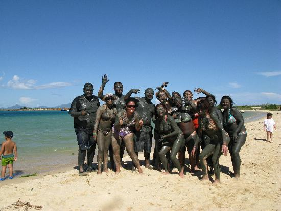 Isla Cubagua: fangoterapia