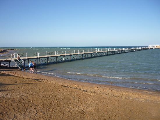 The Three Corners Sunny Beach Resort: Pier