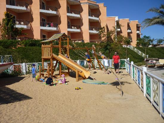The Three Corners Sunny Beach Resort: Kids playground