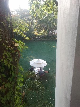 Hotel Boutique Casa de Campo: Vista desde la habitación