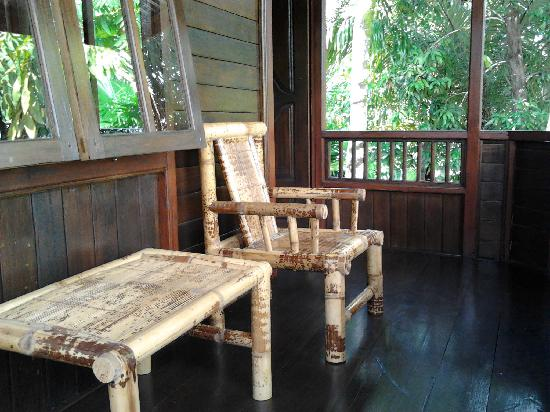 Mamaling Resort Bunaken: Balcony