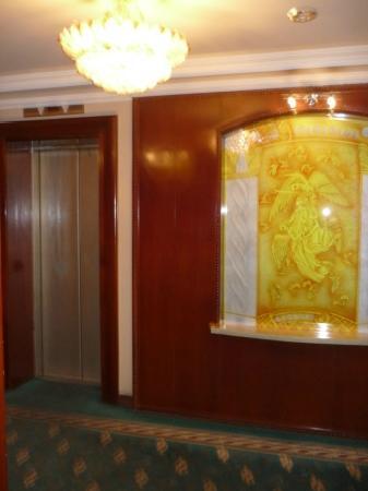 Palace Century Hotel : lift lobby on 7th level
