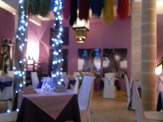 al farachah : la salle de restaurant