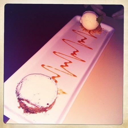 Meza Bar: petit  gâteau de toberone