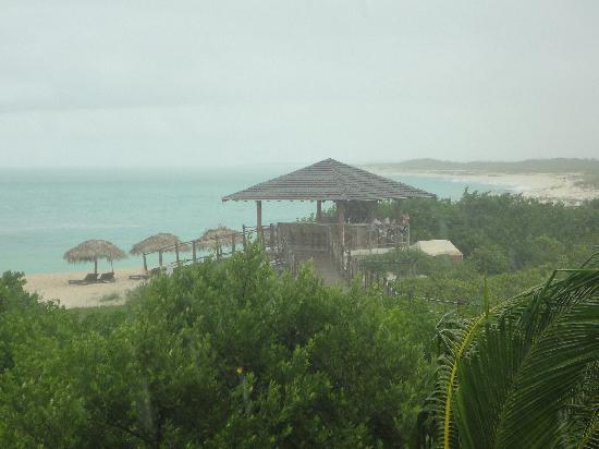Melia Buenavista: Vista desde nuestra Junior Suite Prime Ocean View