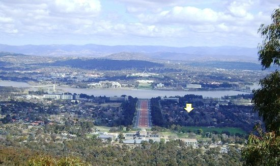 Canberra, Australien: View from Mt. Ainslie