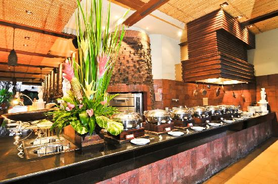 Ramayana Resort & Spa : Buffet Breakfast