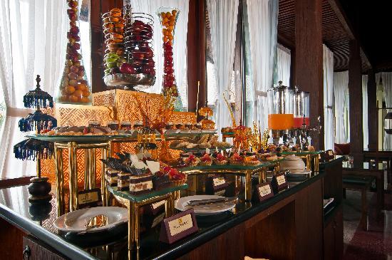 Ramayana Resort & Spa : Afternoon tea