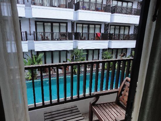 Aonang Buri Resort: balcony