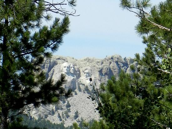 Custer State Park : Mt. Rushmore from Iron Mt. Rd.