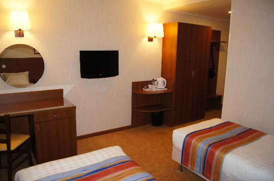 Hotel Aminevskaya: Twin Standard Room