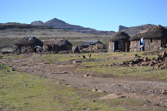 Sani Mountain Lodge: Village Scene 2
