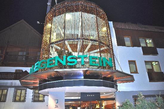 Vulkanlandhotel Legenstein: Abendstimmung Hotel Legenstein