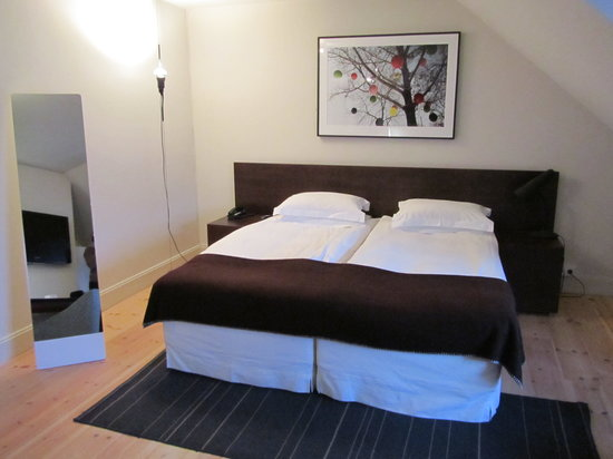 Hotel Skeppsholmen: Our room
