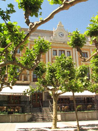 Gran Hotel Puente Colgante : Exterior con árboles