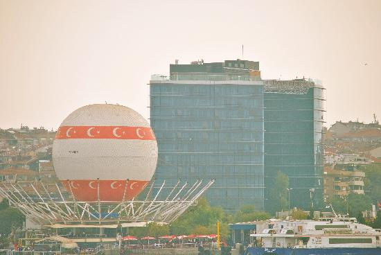 DoubleTree by Hilton Istanbul - Moda: Hotel, as seen from Kadikoy Ferry