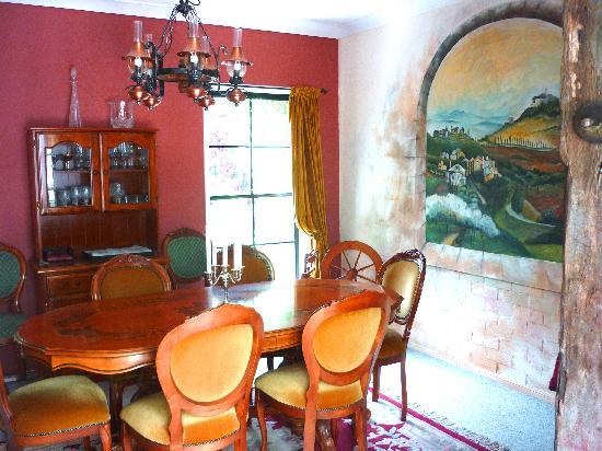 Villa della Rosa: Italian style Breakfast room