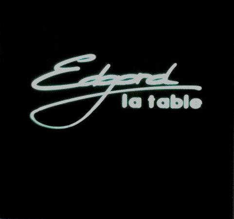 La Table d'Edgard : Am Eingang