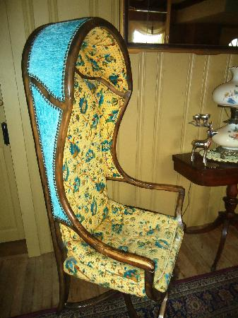 Captain Grant's, 1754: Bonnet Chair (antique)