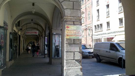 B&B Anna&Ricca : Piazza near B&B