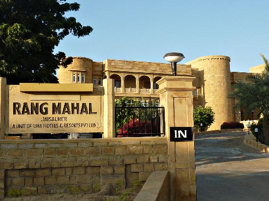Passage to room is through the swimming pool picture of - Jaisalmer hotels with swimming pool ...