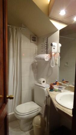 Hotel Rosario La Paz: bath