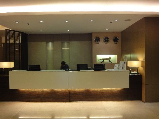 Millenia Suites Ortigas: Reception