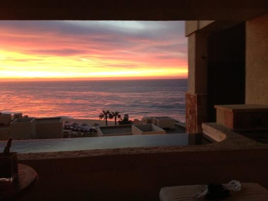 The Resort at Pedregal: Sunrise over the beach.