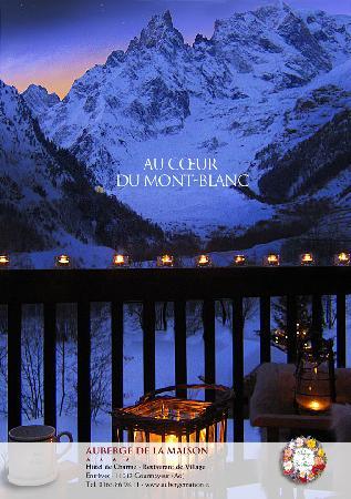 Auberge de la Maison: au Coeur du Mont-Blanc