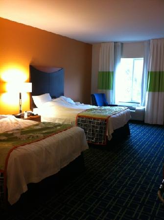 Fairfield Inn & Suites by Marriott St. Augustine I-95: beds