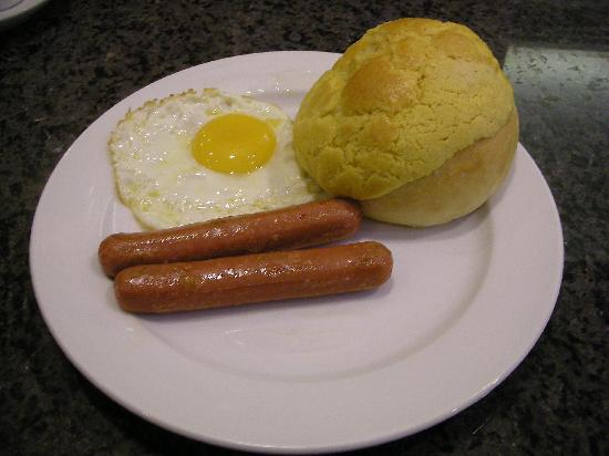 Macau Masters Hotel: 500円の朝食