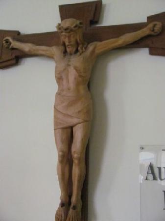 Augustiner Kloster: crusifix