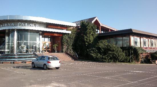 Marieva Palace SA. : Entrada al complejo
