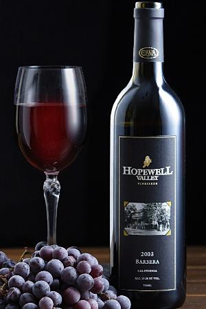 Hopewell Valley Vineyards: HVV Barbera is one of our most popular red wines