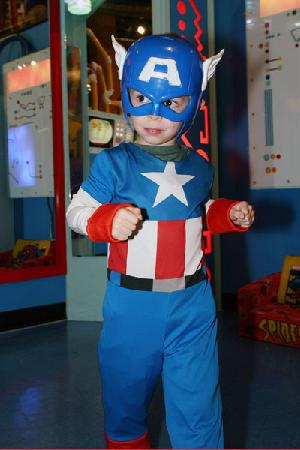Pauls Valley, OK: Captain America