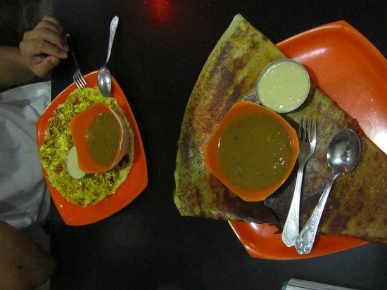 Apni Punjabi Rasoi: Vegetal dosa+ Panner uttpan