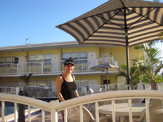 Beach Place Hotel: future olympian's mother, Natalie