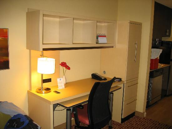 TownePlace Suites Rock Hill: Work (Computer) Area