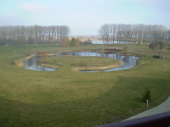 Greenfield Hotel Golf & Spa: View of part of the golf course from our room