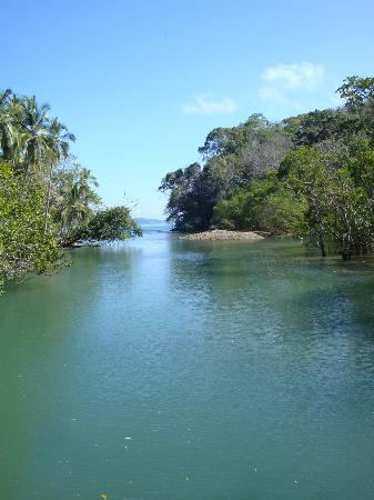 Curu National Wildlife Refuge: A lagoon