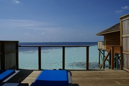 Vilamendhoo Island Resort & Spa: the view from our villa