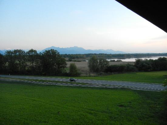 Zum Fischer am See: South part of the lake