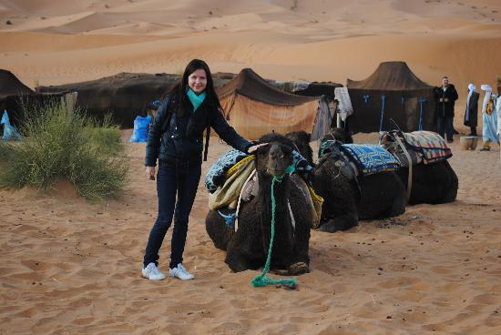 Kasbah Bivouac Lahmada: our camp in the midle of the dunes