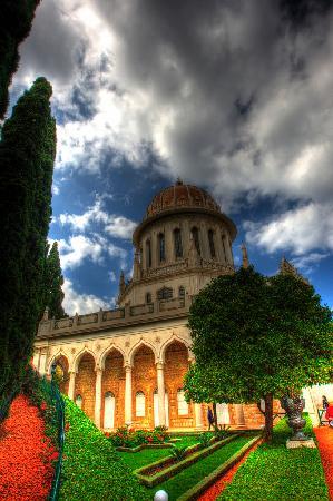 Jardines de Baha'i y Domo Dorado: Bahai Gardens, Haifa Israel - Shalom Stark - 2