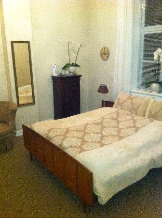 "Bandholm Hotel: Suite - Bedroom ""old style"""