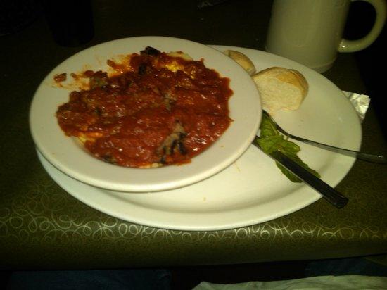 Tomaso's Ravioli and Italian Sausage