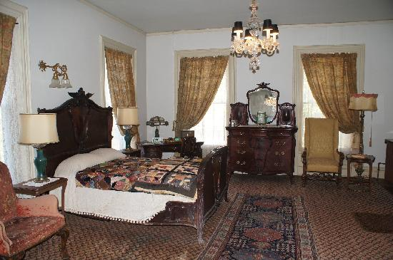 Overholser Mansion: Schlafzimmer