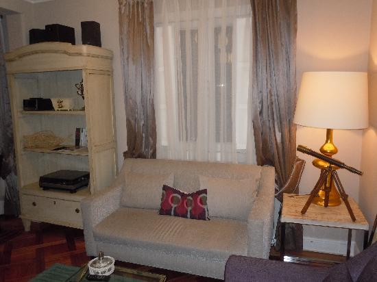 Mito Casa Hotel: estar