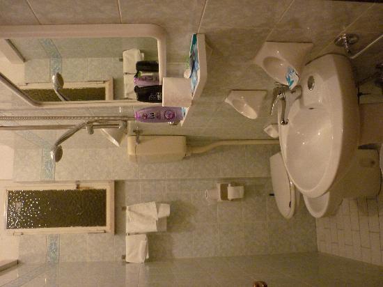Due Torri Hotel : Bagno / Bad